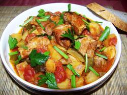 Азу — традиционное блюдо татарской кухни