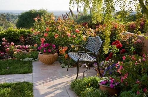 Парковая роза в ландшафтном дизайне используется достаточно часто
