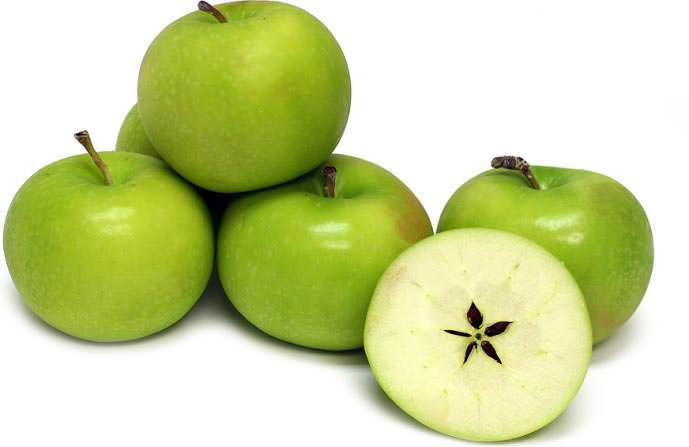Яблоки «Гренни» считаются очень полезными, как и все зелёные плоды