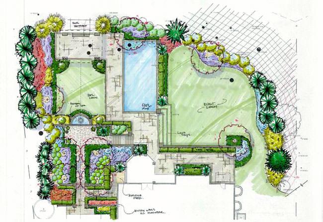 При разработке дизайна сада следует учесть множество нюансов