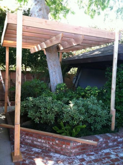 Основа для домика на дереве, с прочным каркасом и опорами