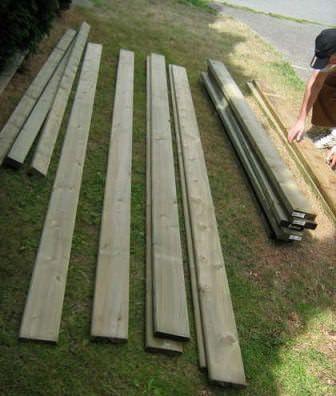 Подготовка качественного материала для настила пола в домике на дереве