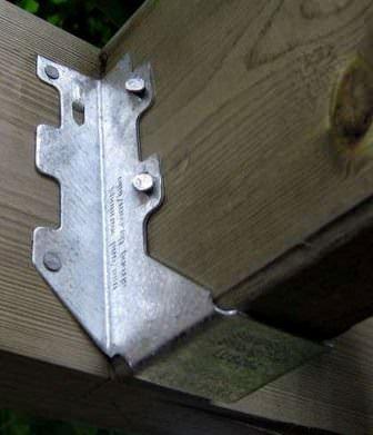 Надежные пластины для соединения и крепления оснований каркаса и платформы