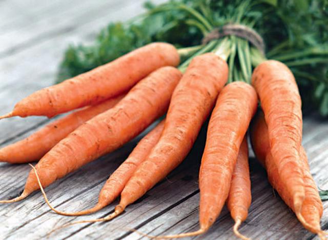 Позднеспелые сорта моркови созревают на 120-й день