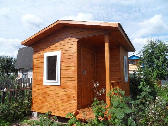 Создавать условия можно очень долго, главное не увлечься и не превратить временное жилье в постоянное, со всеми дорогими удобствами