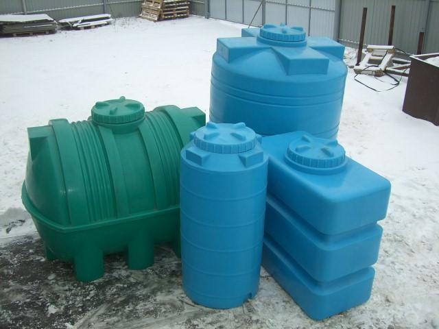 Емкости для воды на даче в 100, 200, 500, 1000 и 5000 л