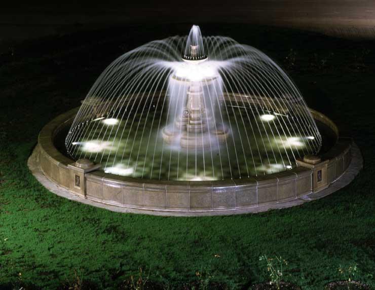 Профессиональное оборудование для фонтанов на даче