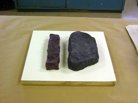 Выбираем образцы камня, наиболее вам интересные, и укладываем их в коробку
