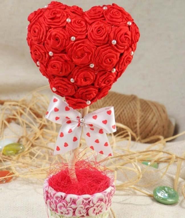 Топиарий «Сердце» – один из самых романтичных и оригинальных