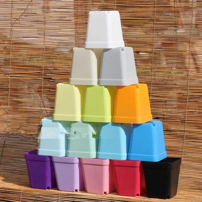 Пластиковые горшки для цветов очень популярны, особенно среди начинающих цветоводов