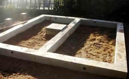 Заливаем фундамент для установки каркаса и строительства голубятника