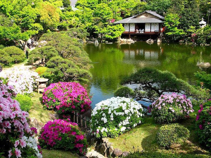 Камерность и единение с природой в стиле Древней Японии
