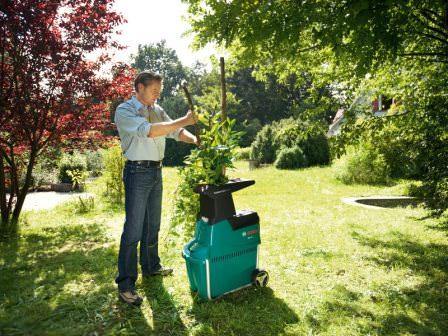 Выбор садового измельчителя в зависимости от вида ножевой системы