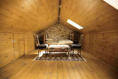 Идеальное обустройство чердачного помещения на частном доме!