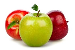 О пользе яблок говорят везде