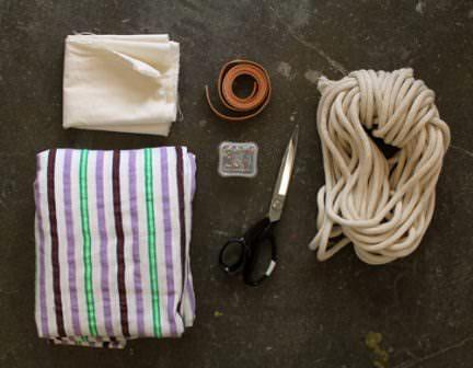 Как сделать гамак своими руками: набор всего необходимого для производства