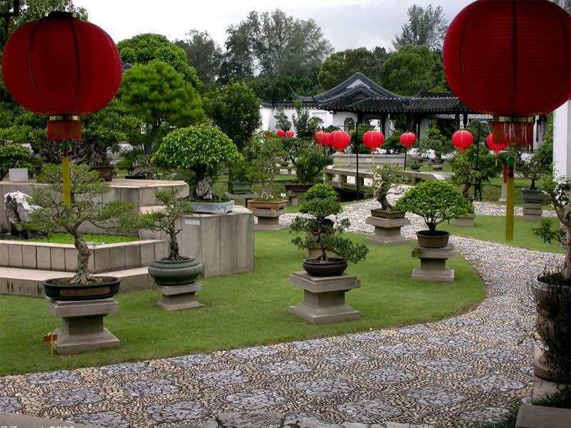 Сад в китайском стиле: ландшафтное воплощение философии Востока