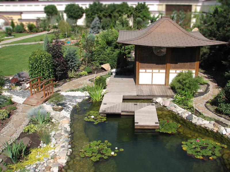 Хотя сады в китайском стиле имеют единую концепцию, но имеется много интересных разветвлений