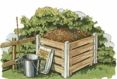 Как самому устроить компостную кучу