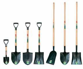 Виды специальных лопат: штыковые, подборные, саперные, специальные