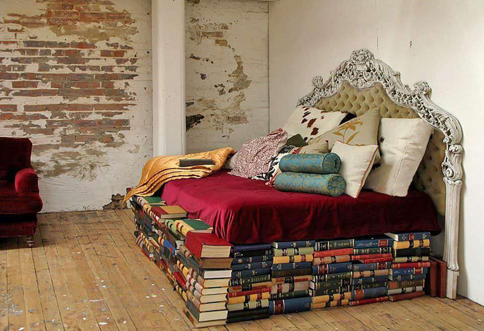 «Мудрая» перина из книг