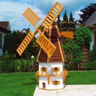 Для чего сегодня строят ветряные мельницы: добыча электроэнергии и декоративный характер