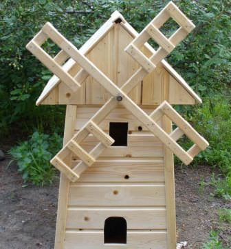 Качественную декоративную мельницу построить просто только при соблюдении определенного алгоритма