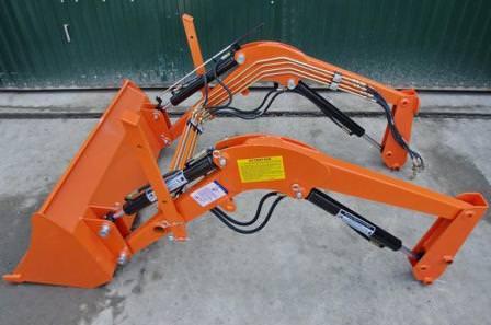 Навесное оборудование под гидравлику трактора или дачного мини-трактора