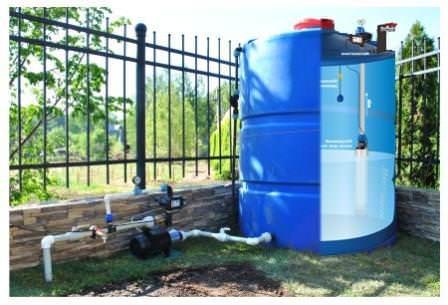 Решение вопроса водоснабжения при помощи мотопомпы