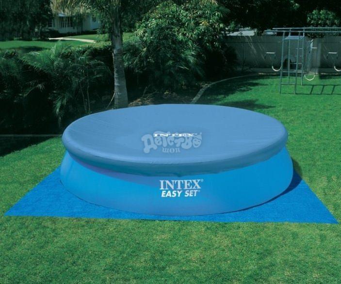 По инструкции производителя установить и подключить надувной бассейн на даче сумеет каждый человек