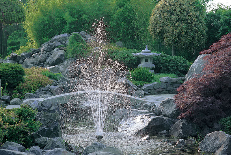 Насадки для фонтанов, или как создавать водные картины