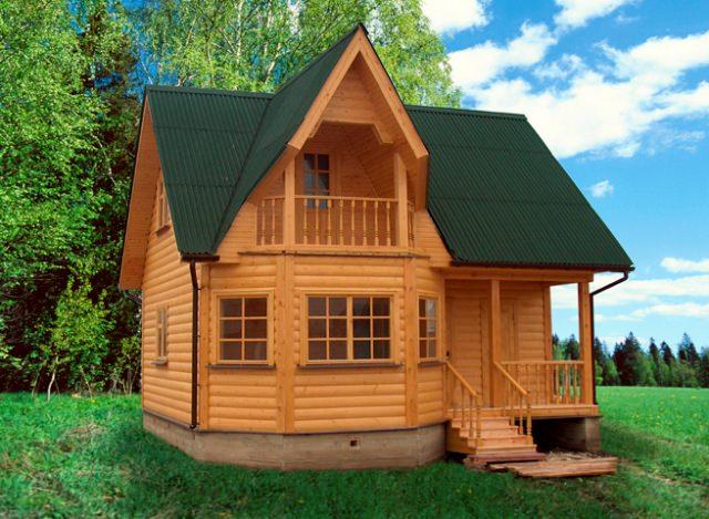 Чтобы построить недорогой дачный дом, не нужно гнаться за огромной площадью. Отталкивайтесь от самого необходимого – пара комнат, кухня, коридор, санузел (если он будет внутри дома), небольшая кладовая