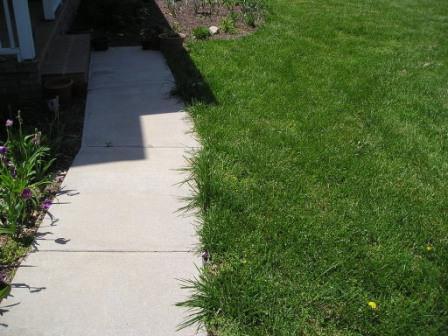 Как происходит обновление дачных дорожек бетонными плитами?