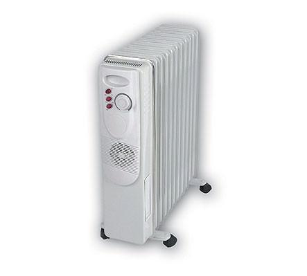 Масляные радиаторы на даче неплохо справляются с обогревом отдельных комнат