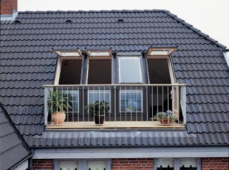 Стандартные окна для установке на террасе дачного дома или коттеджа