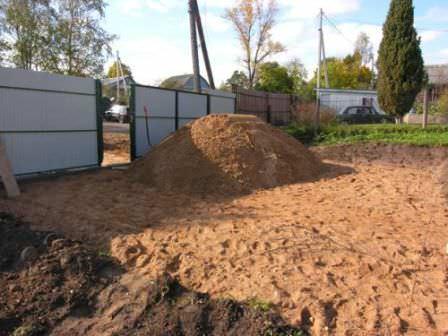 Отсыпка участка под застройку или озеленение серьезно отличается, потому быдьте внимательны