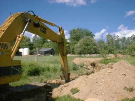 Отсыпка дачной территории песком или же материалом выемки грунта
