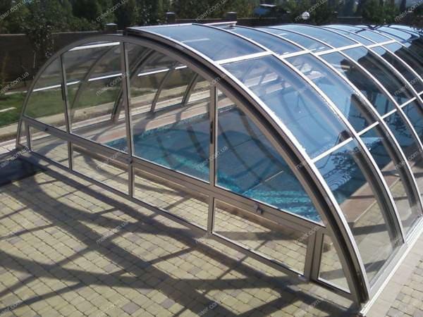 Особенности выбора павильона для бассейна