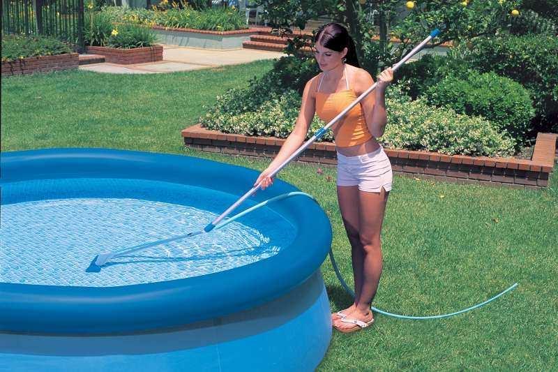 Пылесос для бассейна своими руками – простое изобретение, с которым даже интересно поработать