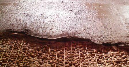 Как быстро и правильно утеплить пол в гараже на даче керамзитом