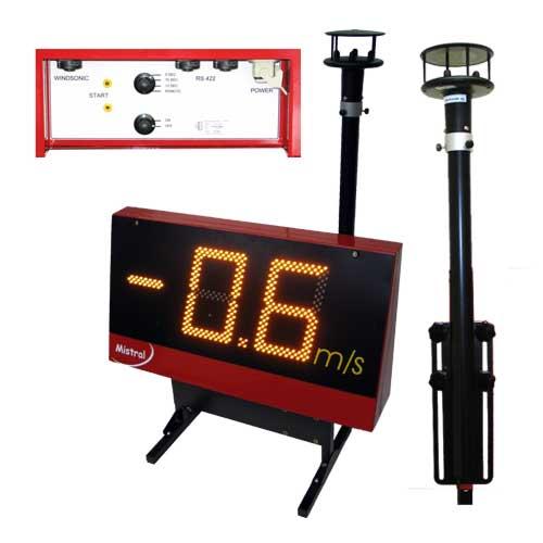 Отслеживая силу ветра, датчик передает сигнал на систему, регулирующую производительность насоса