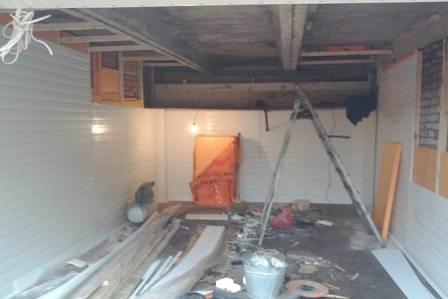 Утепление и обшивка стен гаража на даче: краткая инструкция