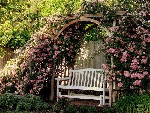 Романтический стиль в ландшафтном дизайне