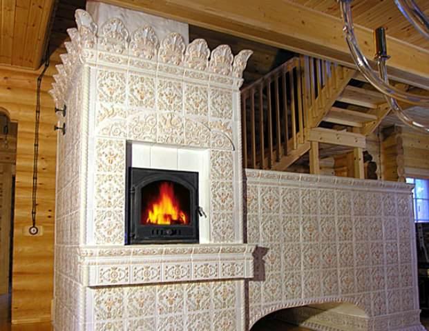 У современных печей в нижней части размещают дымооборотные каналы, чтобы печь прогревалась на всю высоту
