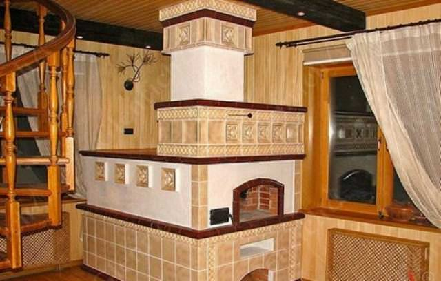 Наиболее экономичным и эффективным способом отопления дачи является именно печное отопление русской печью, для которой нужно только лишь наличие дров или угля