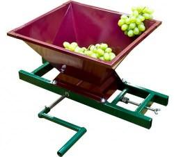 Дробилка для винограда – полезная вещь в хозяйстве