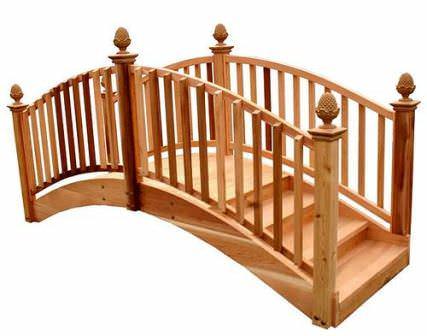 Садовые мостики: выбор конструкции и постройка своими руками