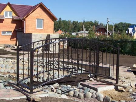 Надежные и долговечные металлические мостики