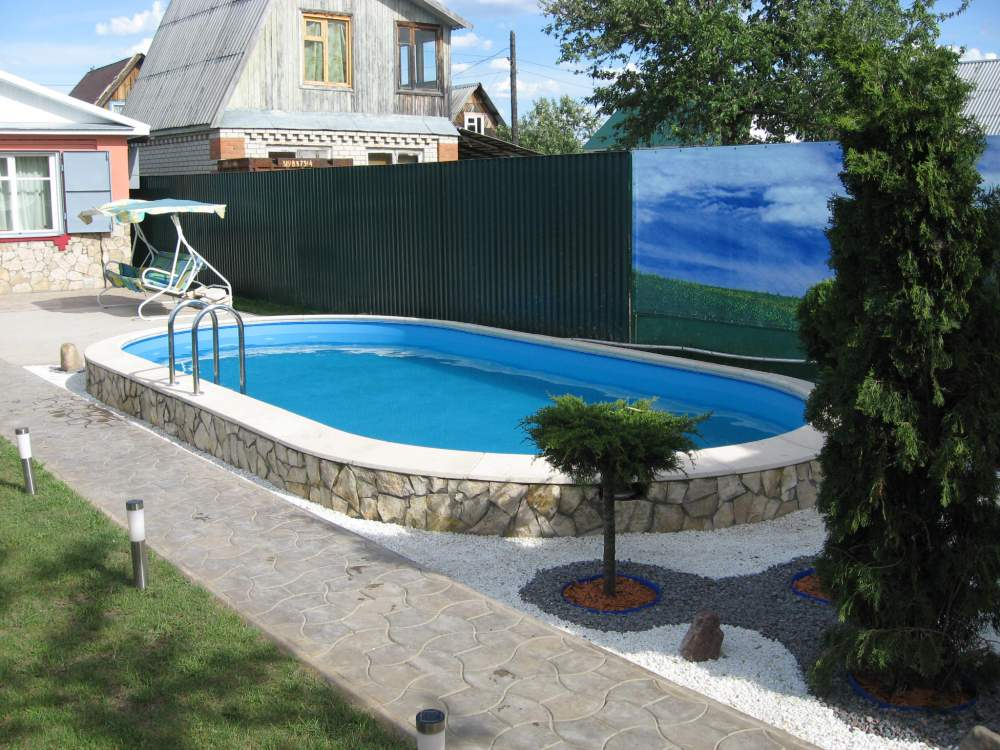Рекомендации по выбору, приобретению и установке сборного бассейна