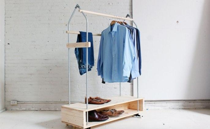 Оригинальные вешалки для одежды своими руками